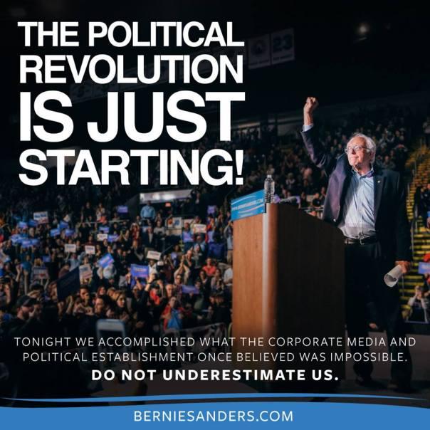 Bernie-revolution